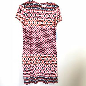 London Times Coral Shift Dress